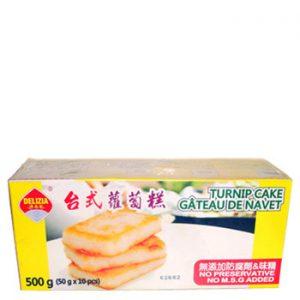 Taiwanese-style Turnip Cake