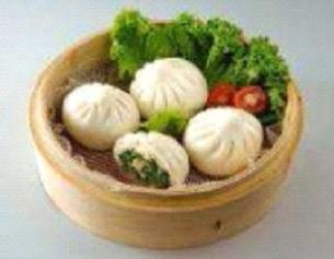 100g Chinese Spinach Bun