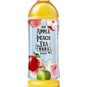 樣版-蘋果蜜桃茶-PET575ml