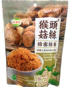 猴頭菇絲素肉鬆